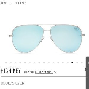 Desi Perkins High Quay Blue Aviator with case
